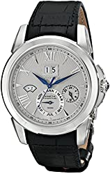 Seiko Men's SNP107 Analog Display Japanese Quartz Black Watch