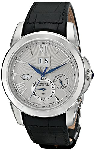 Seiko Men's SNP107 Analog Display Japanese Quartz Black Watch