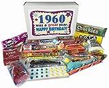 1960 56th Birthday Gift Basket Box Jr. Retro Nostalgic Candy Born '60s