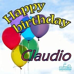 Amazon.com: Happy Birthday Claudio (Auguri Claudio): Michael & Frencis
