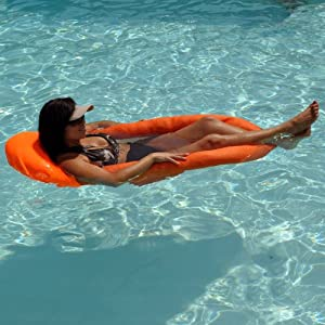 Neo Lounger Swimming Pool Float - Blue