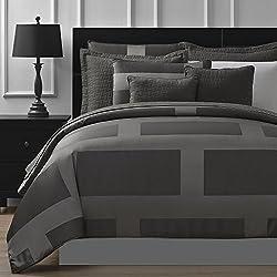 P&R Bedding Frame Jacquard Microfiber 5-Piece Comforter Set (Queen)