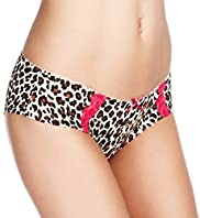 2 Pack Limited Collection Cotton Rich Animal Print Brazilian Shorts
