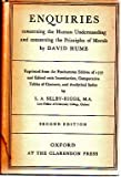 img - for Enquiries Concerning the Human Understanding and Concerning the Principles of Morals... Edited ... By L. A. Selby-Bigge. Second Edition book / textbook / text book