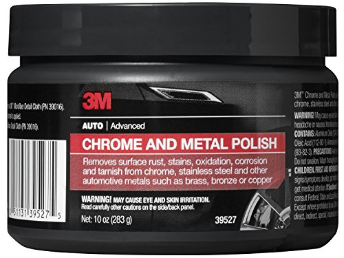 3M 39527 Chrome and Metal Polish - 10 oz. (Chrome Cleaner Polish compare prices)