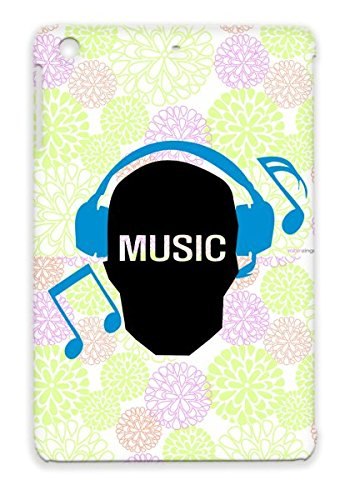 Music Skull Tearproof Navy Case For Ipad Mini Music Skull Music Headphones Text Earphones Notes Listen To Note Miscellaneous Skull Geek Geek Funny