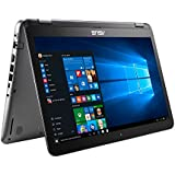 2017 ASUS Convertible 2-in-1 15.6 Full HD Touchscreen High Performance Laptop PC, Intel Core I5-7200 2.5GHz, 8GB RAM, 1TB HDD + 128GB SSD, NVIDIA GeForce 940MX, HDMI, Bluetooth, USB 3.1, Windows 10