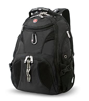 SwissGear Travel Gear ScanSmart Backpack 1900 (Black)