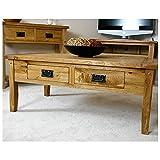 Westbury Reclaimed Oak Coffee Table, width 110cm