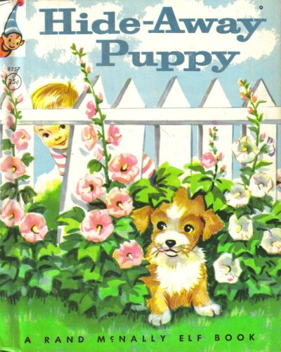 Hide-Away Puppy - (A Rand McNally Elf Book #8357), Jessica Potter Broderick