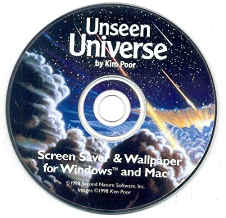 Unseen Universe by Kim Poor Screen Saver & Wallpaper