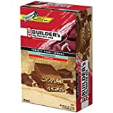 Clif Bar Builder's Bar 18 Bar Variety Pack: 6 Chocolate Mint, 6 Chocolate, 6 Chocolate Peanut Butter (NET WT 28.80oz (816g) 2.40oz (68g) per bar).