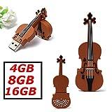 MECO 16G GO GB Clé USB 2.0 Modèle Cartoon violon Flash Drive Mémoire Stick plastique