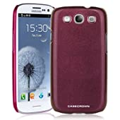 CaseCrown Chameleon Snap On Case (Purple Brown) for Samsung Galaxy S III S3 GT-I9300 (QTY 1)