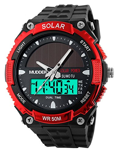 mudder-men-sports-solar-power-50m-waterproof-outdoor-lcd-movement-military-watch-red