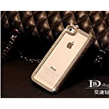 Purple Iphone Cover Case Fancy Mobile Cover Case Crystal Bling Iphone 6(4.7') - B0153FYFYS