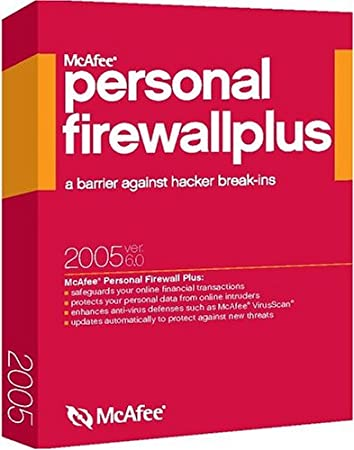 McAfee Firewall Plus 2005 6.0 [LB]