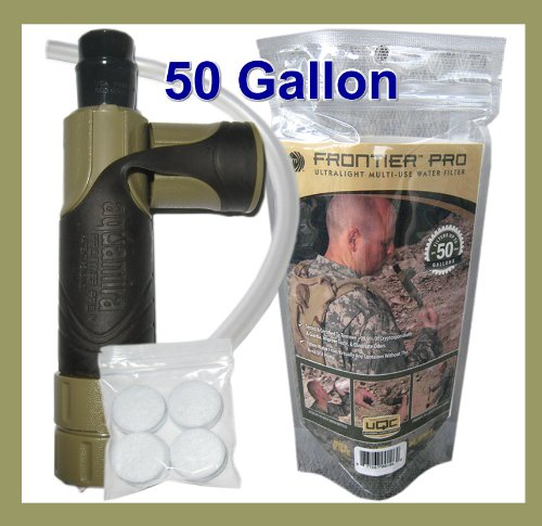 Tactical Military Survival & Emergency Water Filter