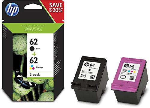 HP Combo Pack Confezione da 2 Cartucce Originali d'Inchiostro, Multicolore