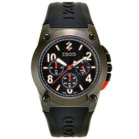 IZOD Men's Multi-Function Gunmetal Ion-Plated Watch