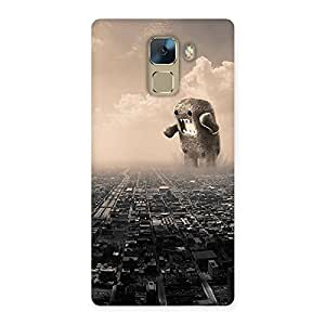 Special Destroy City Back Case Cover for Huawei Honor 7