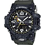 Casio G-Shock Mudmaster Black-Tone Dial Resin Quartz Men's Watch GWG1000-1A3 (Color: Black)