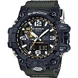 Casio G-Shock Mudmaster Black-Tone Dial Resin Quartz Men's Watch GWG1000-1A3 (Color: Black)