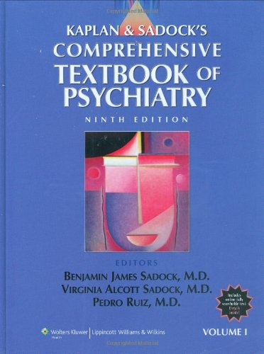 Kaplan and Sadock's Comprehensive Textbook of Psychiatry 2 Volume Set