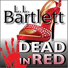 Dead in Red: The Jeff Resnick Mysteries Audiobook by L.L. Bartlett Narrated by Steven Barnett