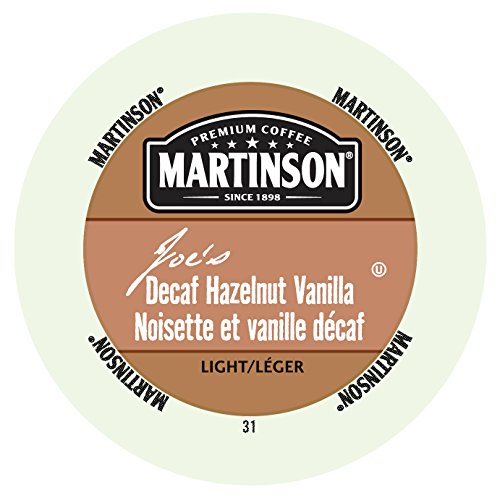 Martinson Coffee, Hazelnut Vanilla Decaf, 24 Single Serve RealCups (Martinson Coffee Can compare prices)