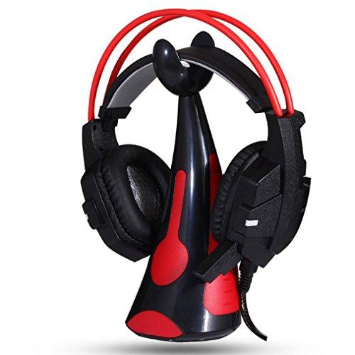 Lookatool New General Earphone Bracket Headphones Headset Hook Powerful Paste (red)