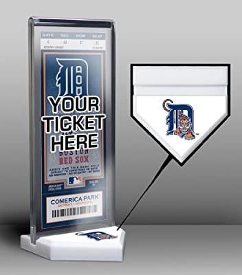 MLB Detroit Tigers Home Plate Ticket Stand