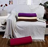 Beige Decke Fell Optik Nerzdecke Kuscheldecke Felldecke Tagesdecke 130x180 cm Hochwertige Sofadecke Wohndecke Kuscheldecke Sofadecke