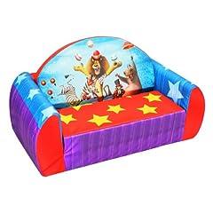 DreamWorks Madagascar 3 Circus Toddler Flip Sofa