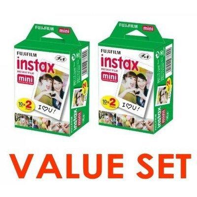 Fujifilm-Instax-Mini-Instant-Film-2-x-10-Shoots-x-2Pack-Total-40-Shoots-Value-Set