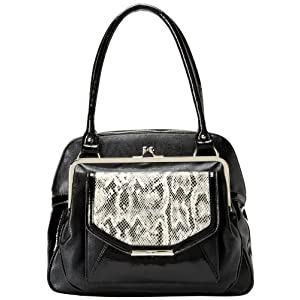 Nine West Because The Night 60292117 Satchel,Black,One Size