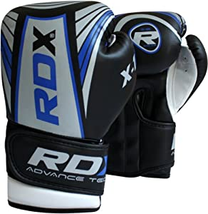 Buy Authentic RDX 6oz Kids Boxing Gloves,Punch Bag Mitts Junior Children MMA Kick 1B by RDX