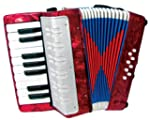 Scarlatti Child's Accordion - Red