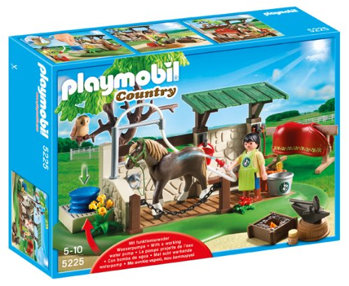 5225 Horse Care Station 5225 5225 5053750790580 By Playmobil