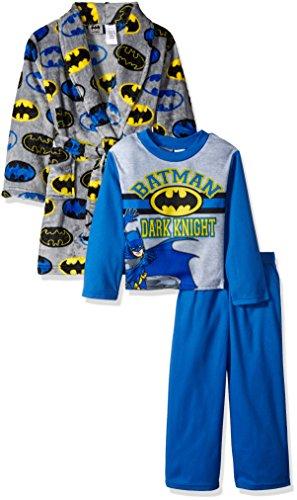 DC Comics Boys' Batman 2-Piece Pajama Set with Robe at Gotham City Store