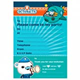20 Octonauts Party Adventure Captain Barnacles Party Invitations Plus Envelopes
