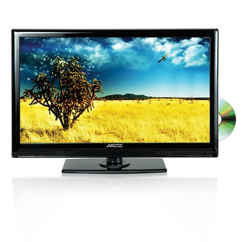 Review Axess 13.3-Inch LED Full HDTV, Includes AC/DC TV, DVD Player, HDMI/SD/USB Inputs, TVD1801-13