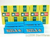 Rizla Blue Rolling Papers and Swan Extra Slim Filter Tips (600)