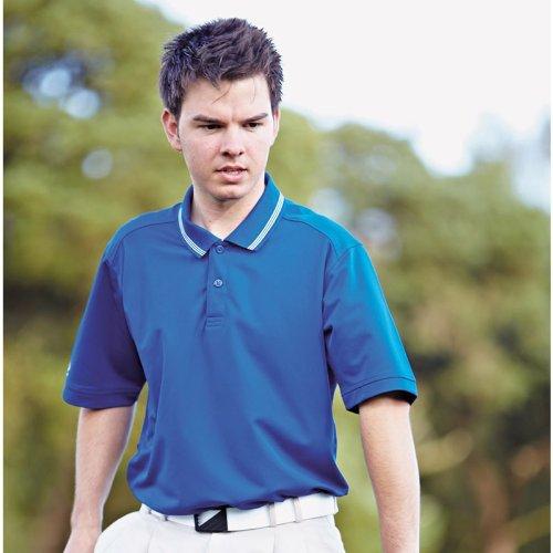 Adidas Mens Golf Tipped Clima Polo Shirt