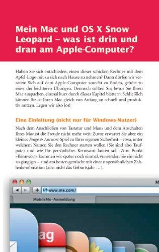 Von Windows zum Mac - die Umsteigefibel mit Mac OS X 10.6