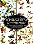 Audubon Birds Giftwrap Paper