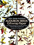 Audubon Birds Giftwrap Paper (Dover Giftwrap)