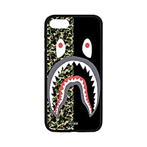 DreamOffice Custom Hard Protect Case Back Cover Bumper Lightweight for iPhone 7,Army Shark iPhone 7 4.7