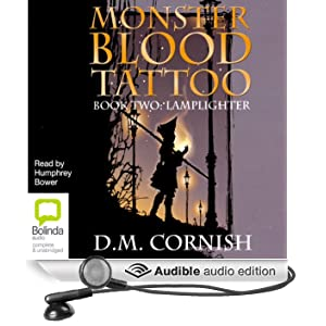 lamplighter monster blood tattoo 2 audible