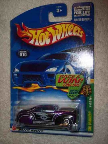 2002 Treasure Hunt -#10 Tail Dragger #2002-10 Collectible Collector Car Mattel Hot Wheels